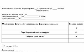Приказ о передаче документов в архив образец